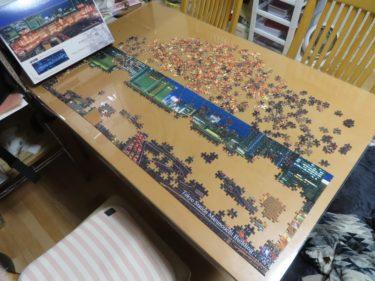 東京駅丸の内駅舎 ジグソーパズル 954ピースを作ってみた