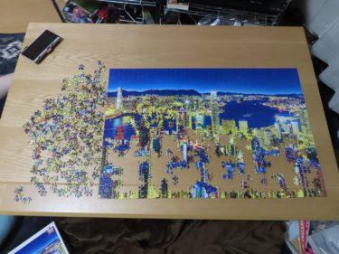 ゴールデンナイト ホンコンのジグソーパズル を作ってみた