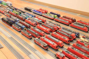 鉄道模型HOゲージの車両を約1000両並べてみた【梅鉄会2021.6】